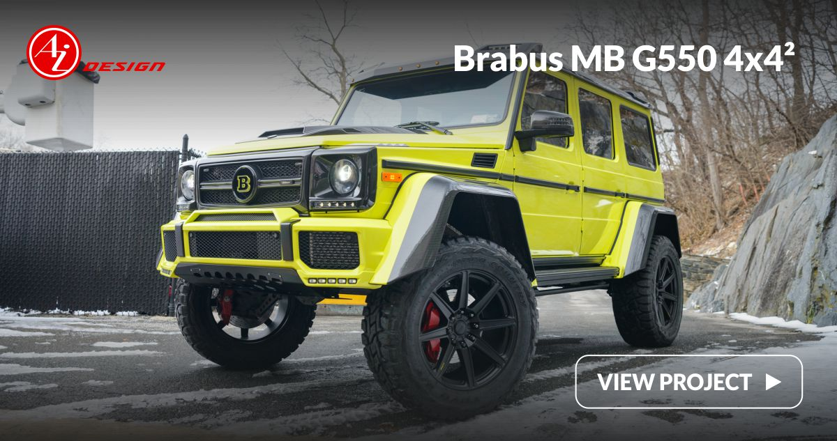 Ai Design | Work | Brabus MB G550 4x4²